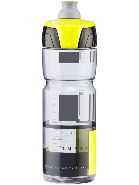 Elite Crystal Ombra Fume' Drink Bottle 750ml yellow/transparent